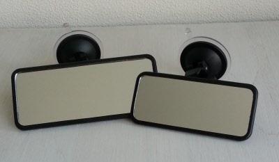 Spiegel Met Zuignap : Instructiespiegels